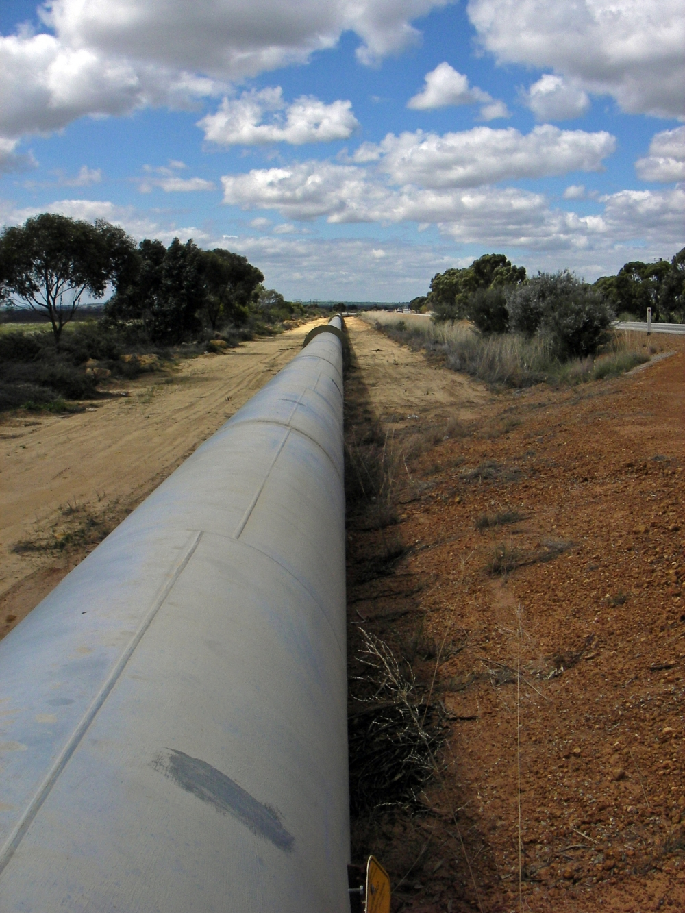 Image Esperanza project 154 km pipeline leakage detection