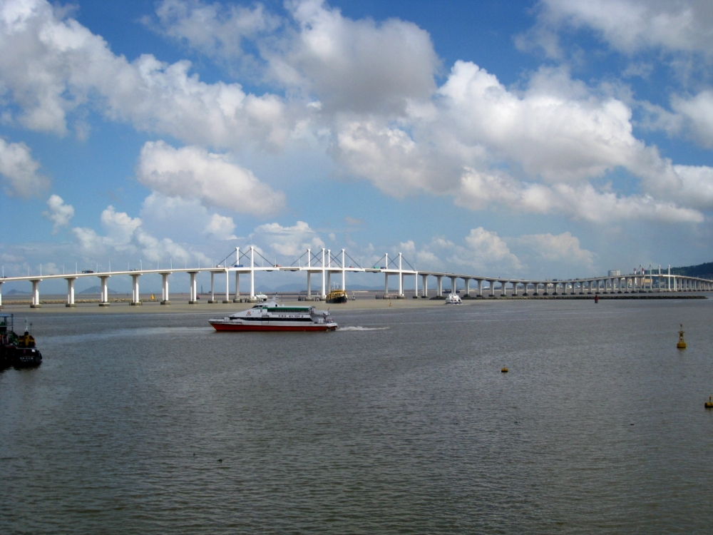 Image Bridge in Macau
