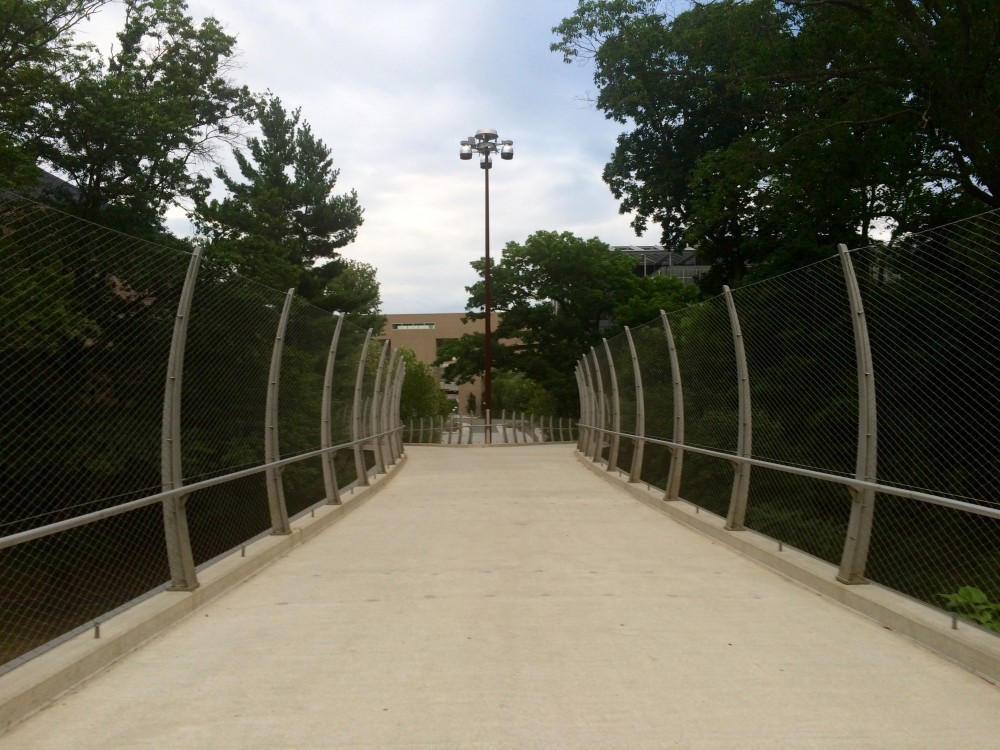 Image Streicker Bridge at Princeton Campus