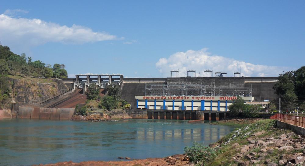 Image Nam Ngum 2 Dam Leakage monitoring