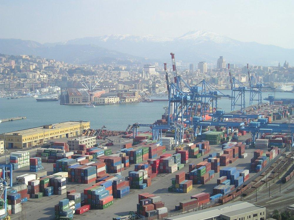 Image Ethiopia pier in Genoa