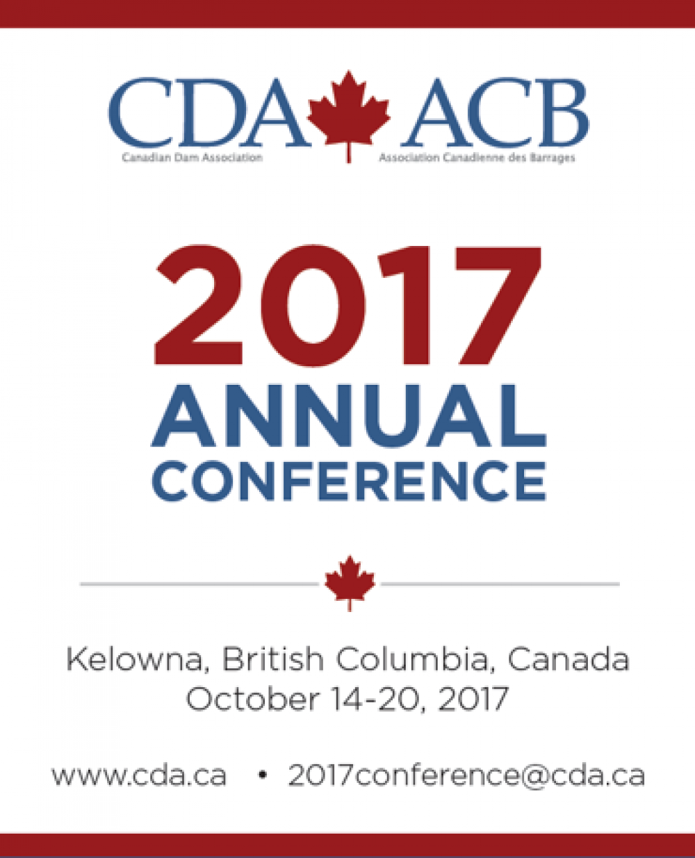 Image Canadian Dam Association 2017