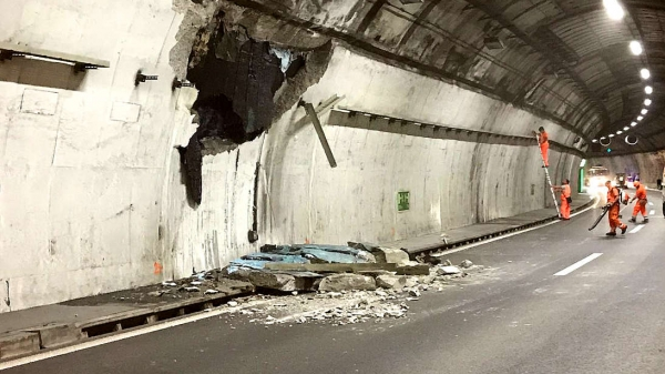 Image San Salvatore Tunnel Monitoring (Switzerland)