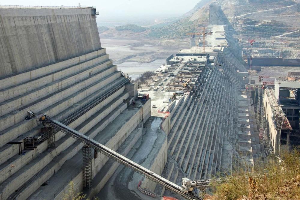 Image Grand Ethiopian Renaissance Dam (GERD), Ethiopia