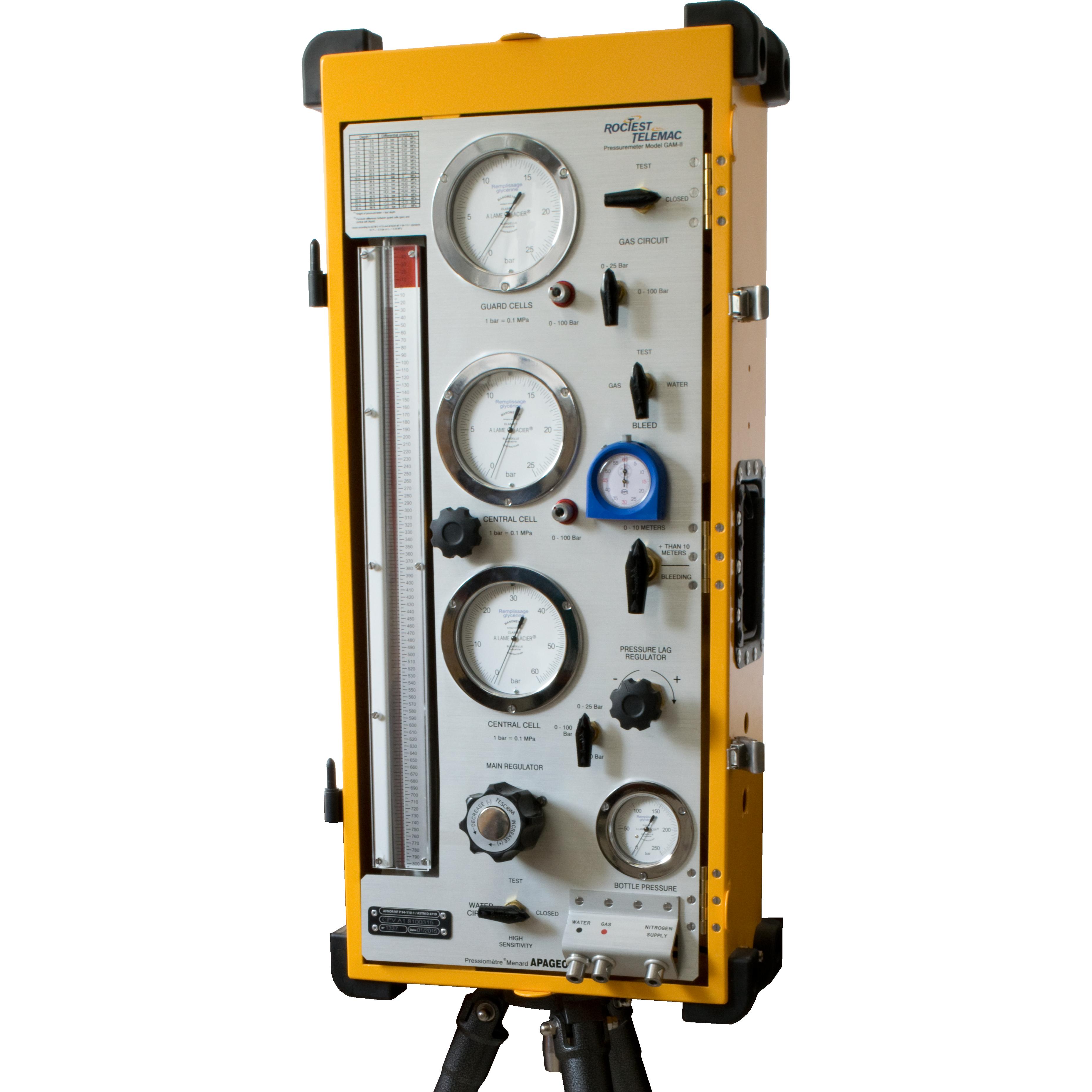 Image Pressiomètre Ménard G-AM II