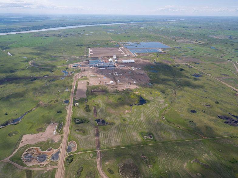 KSPC Bethune Potash Mine site in Saskatchewan.